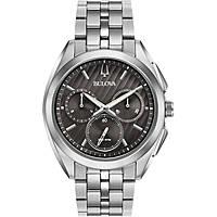 orologio cronografo uomo Bulova Progressive Dress Curv 96A186