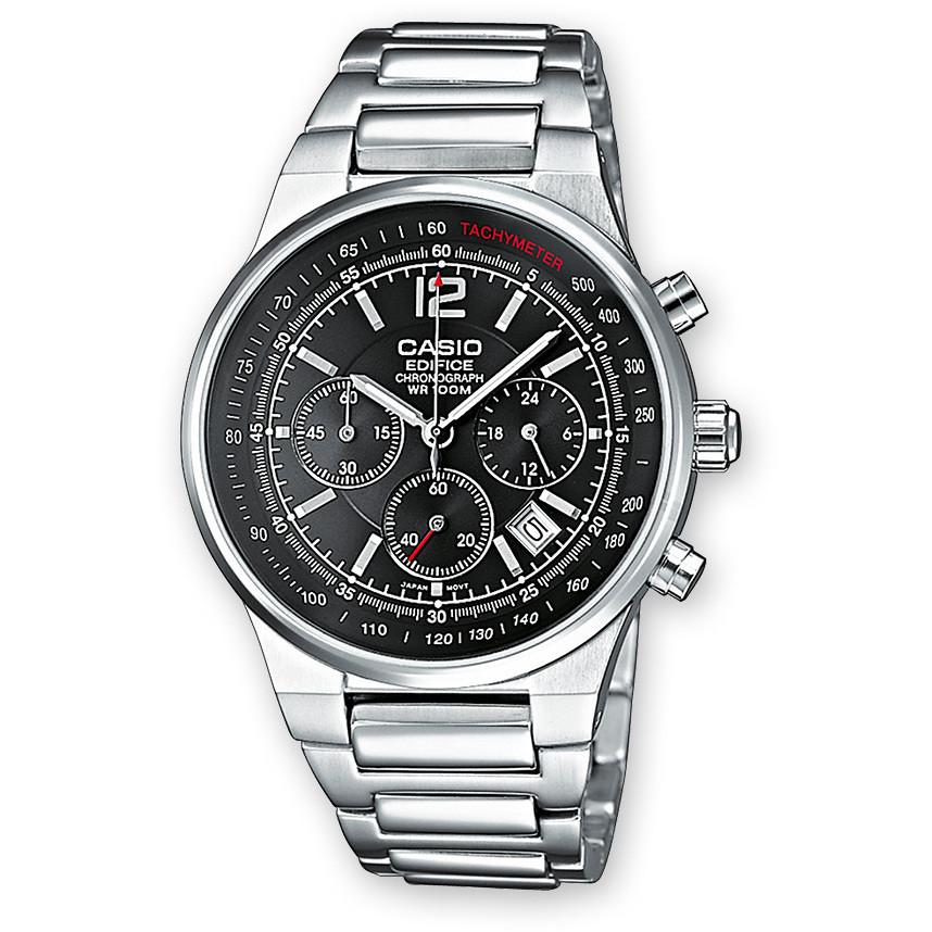 orologio cronografo uomo Casio EDIFICE EF-500D-1AVEF