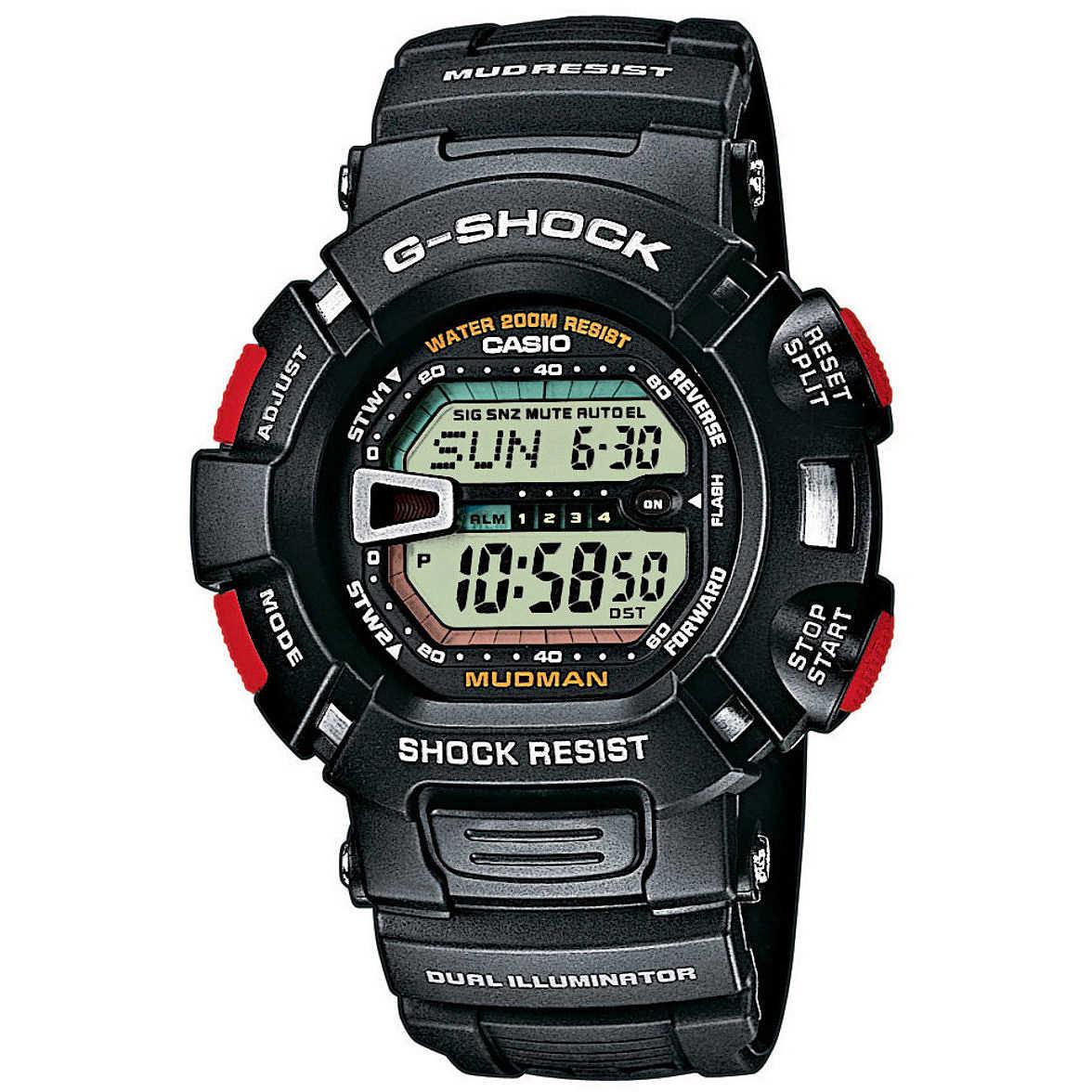 4e70d83be8c8 Orologio Cronografo Uomo Casio G-Shock G-9000-1VER digitali Casio