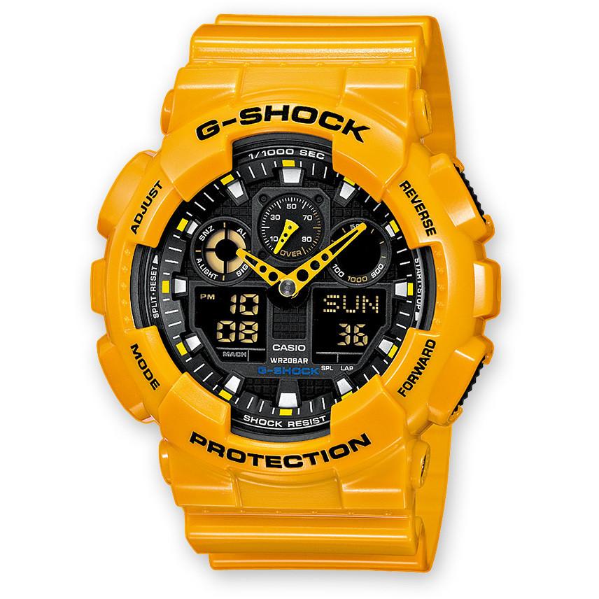 Orologio Cronografo Uomo Casio G-Shock GA-100A-9AER