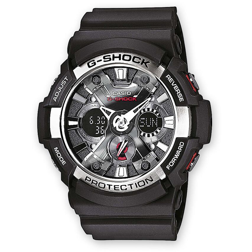 Orologio Cronografo Uomo Casio G-Shock GA-200-1AER