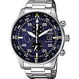 orologio cronografo uomo Citizen Aviator CA0690-88L