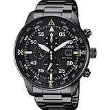 orologio cronografo uomo Citizen Aviator CA0695-84E