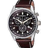 orologio cronografo uomo Citizen Chrono AT2396-19X