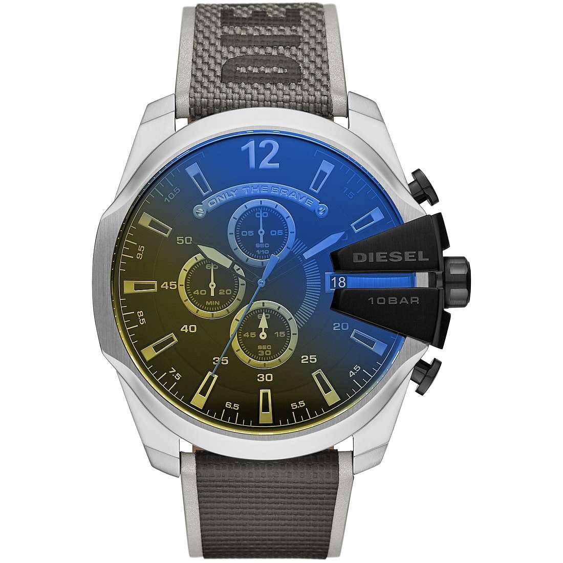 fucile difesa Fiduciosamente  orologio cronografo uomo Diesel Mega Chief DZ4523 cronografi Diesel