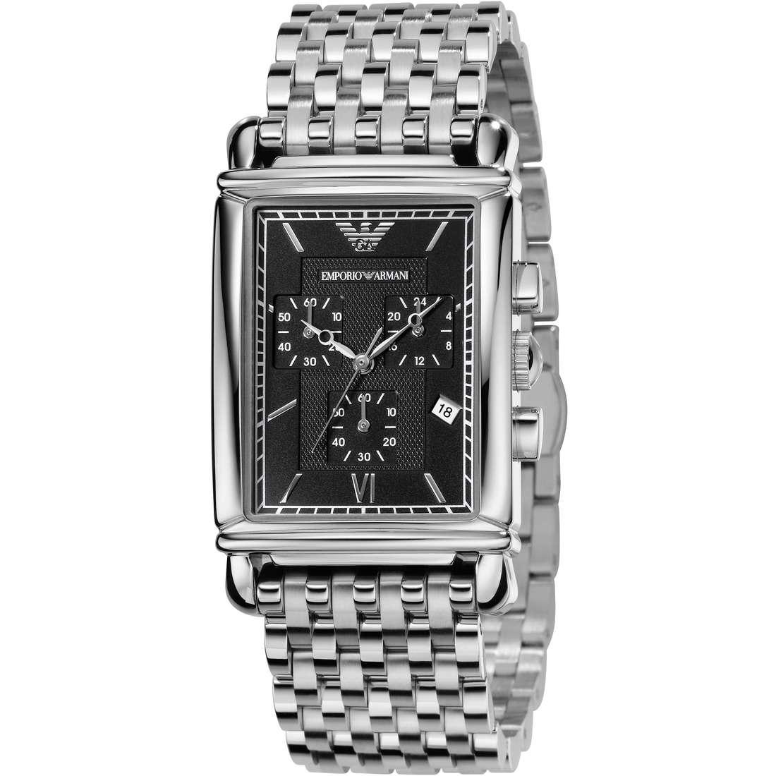 orologio cronografo uomo Emporio Armani AR0299