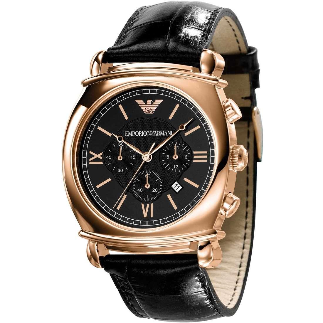 orologio cronografo uomo Emporio Armani AR0321