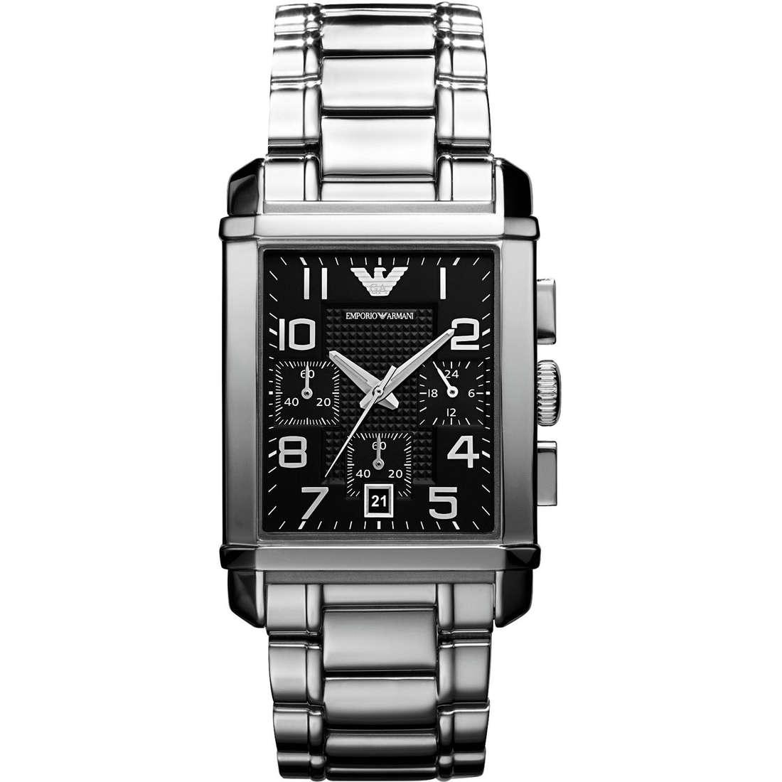 orologio cronografo uomo Emporio Armani AR0334