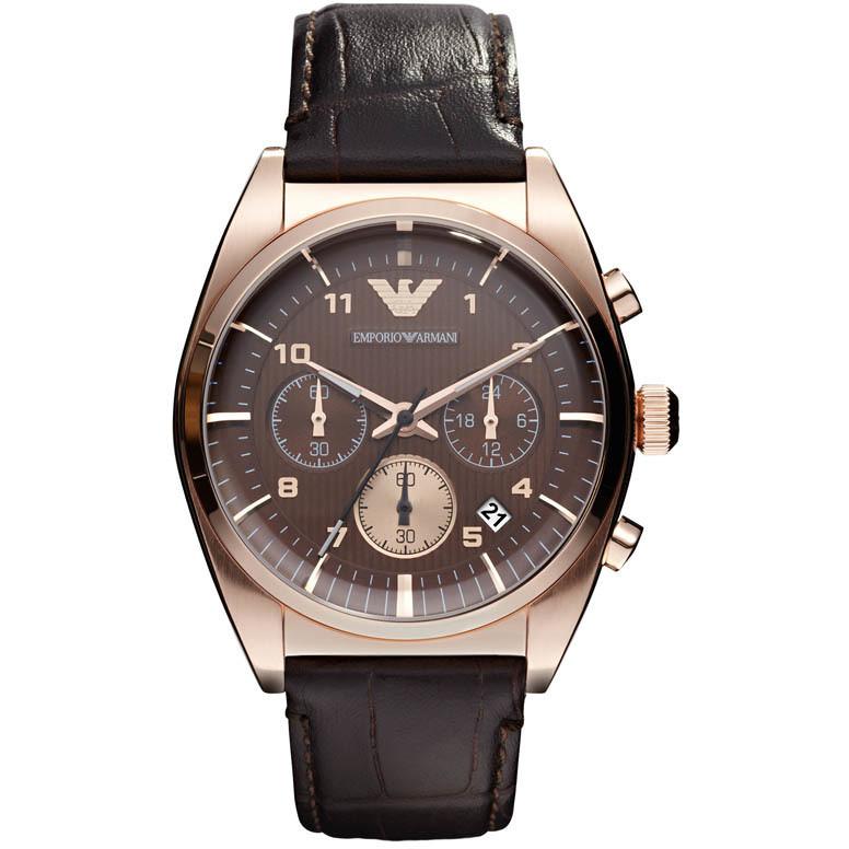 orologio cronografo uomo Emporio Armani AR0371