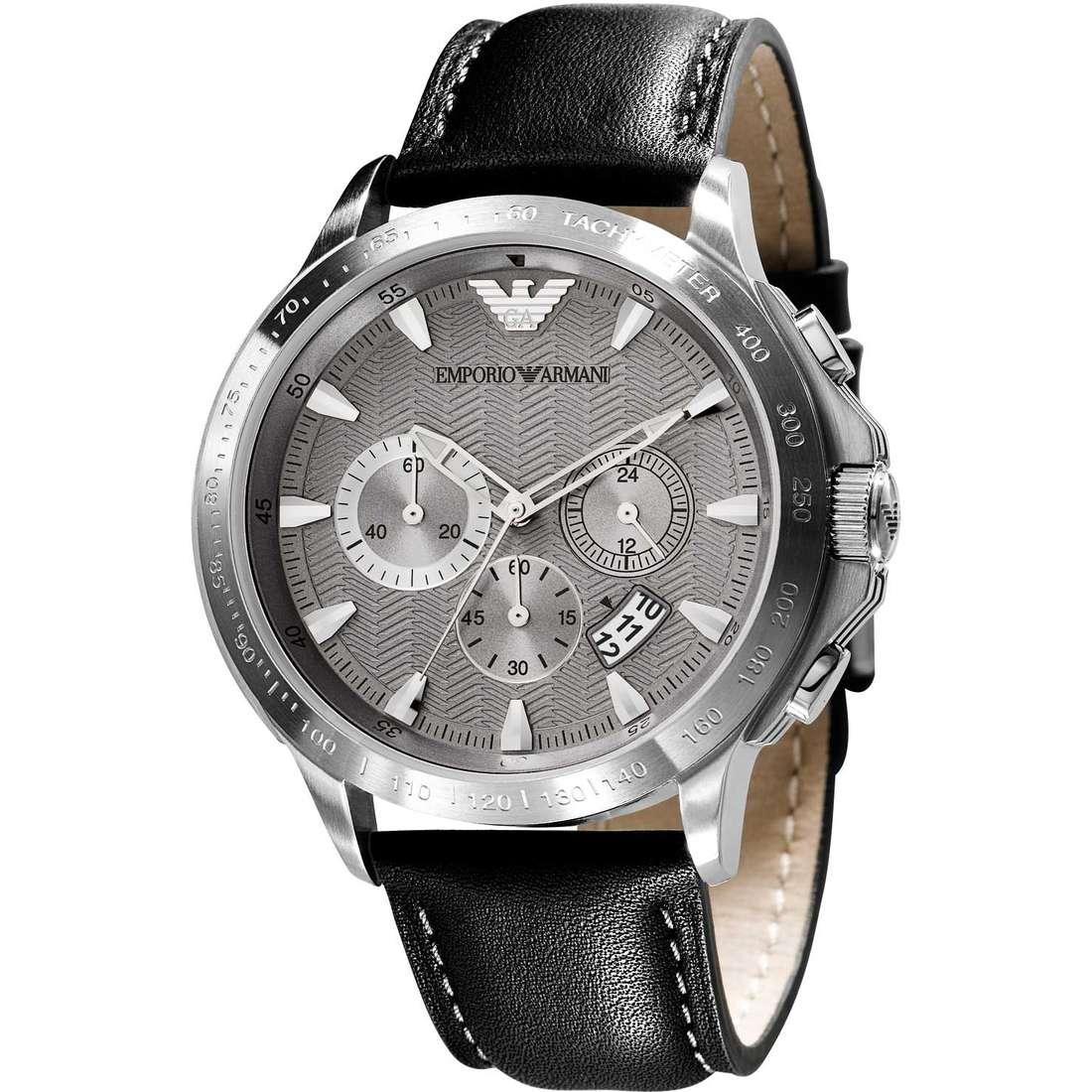 orologio cronografo uomo Emporio Armani AR0635
