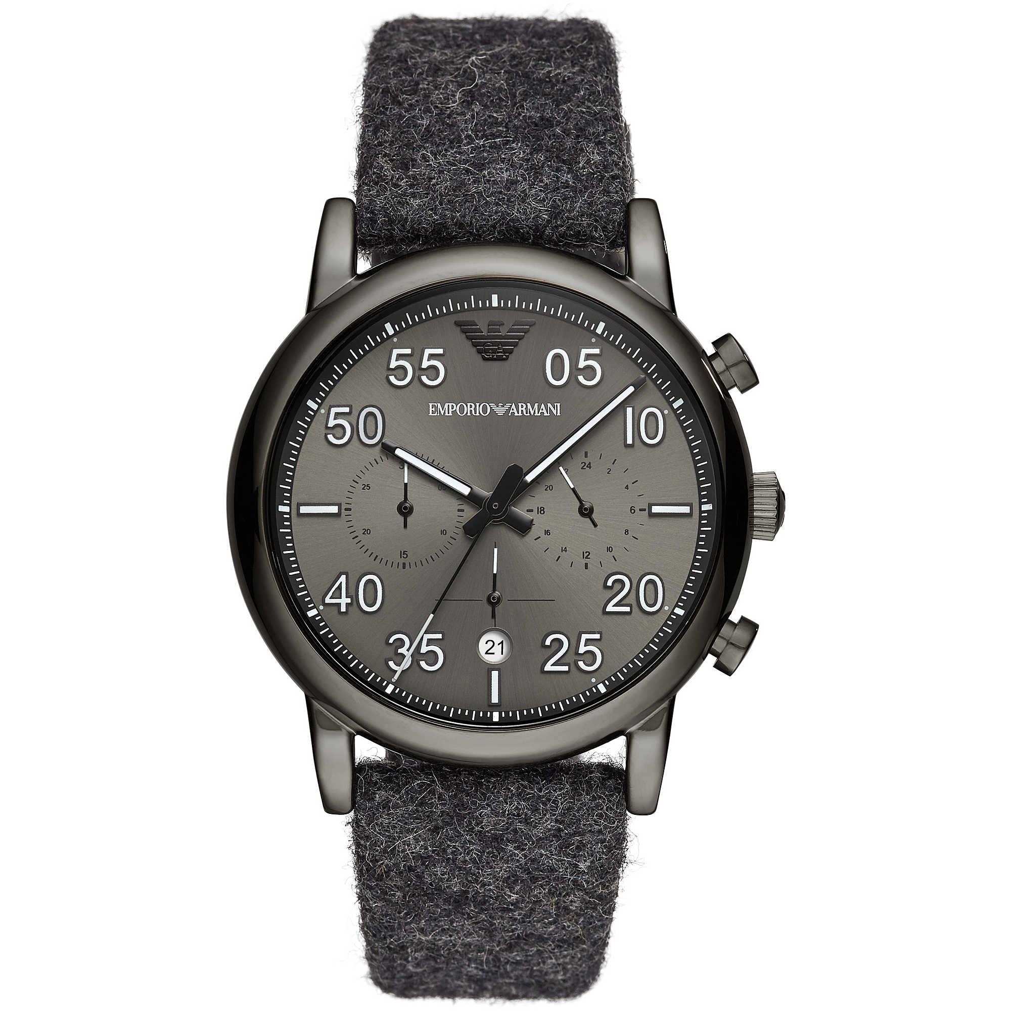 85781396ded orologio cronografo uomo Emporio Armani AR11154 cronografi Emporio ...