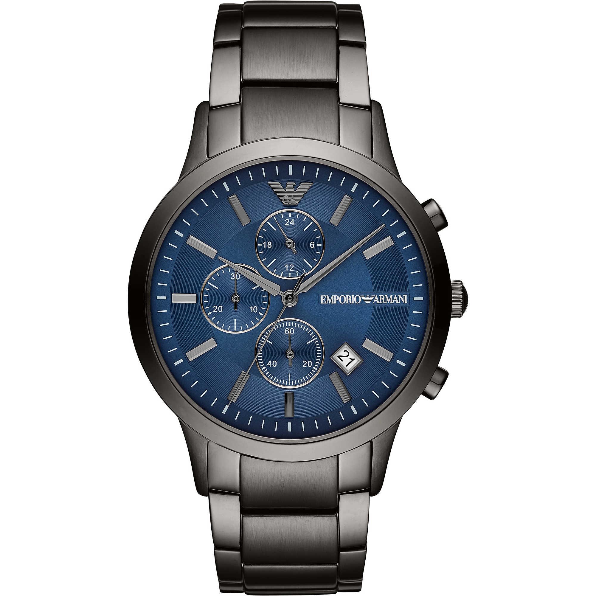f70b36bc3e orologio cronografo uomo Emporio Armani AR11215 cronografi Emporio ...