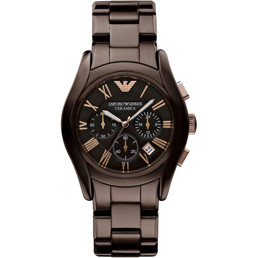 orologio cronografo uomo Emporio Armani AR1446