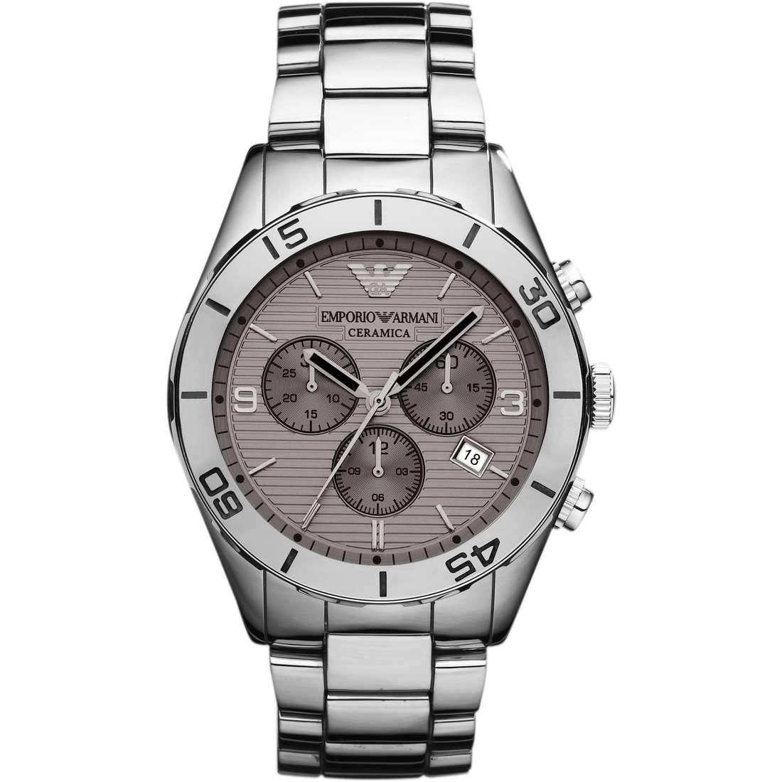 orologio cronografo uomo Emporio Armani AR1462