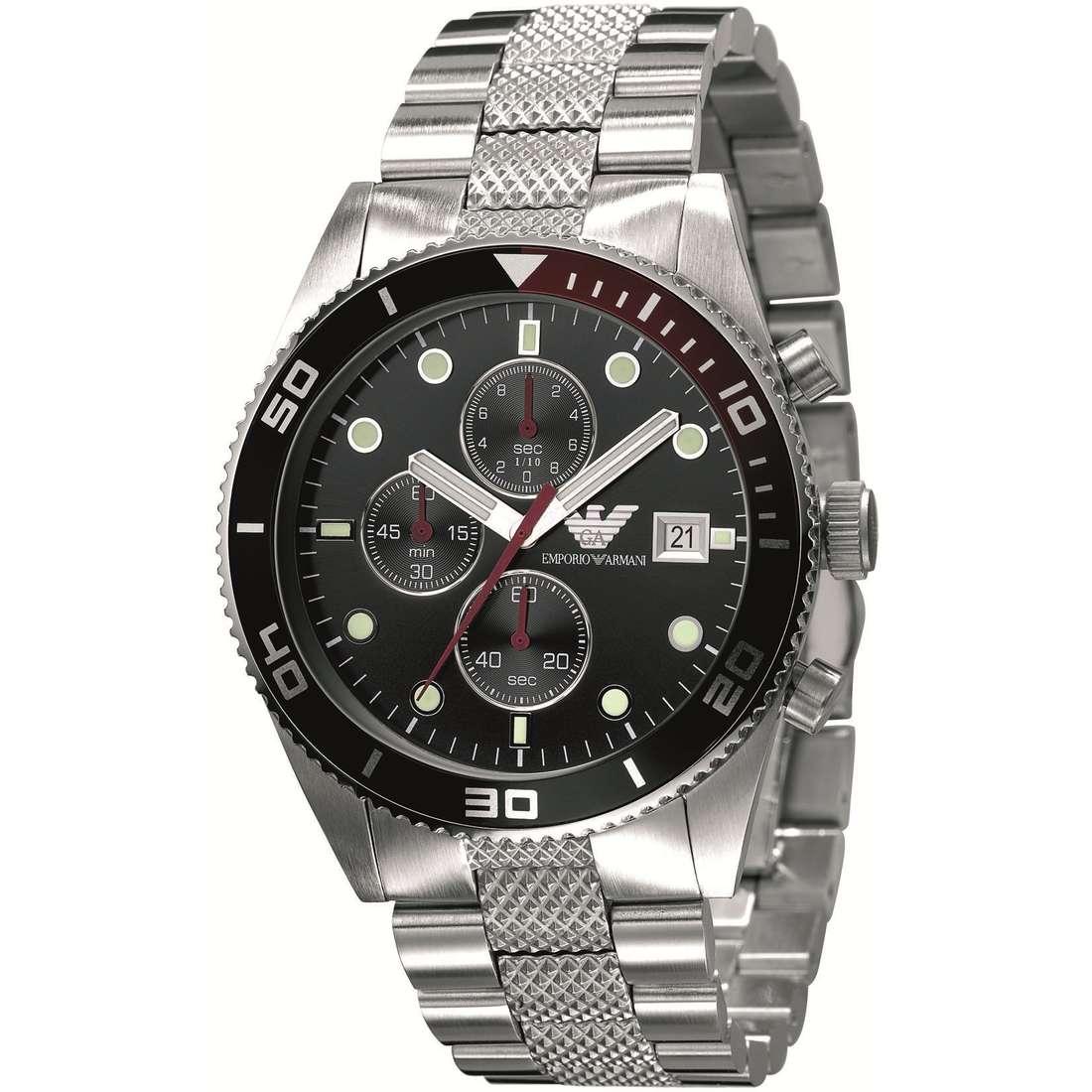 orologio cronografo uomo Emporio Armani AR5855