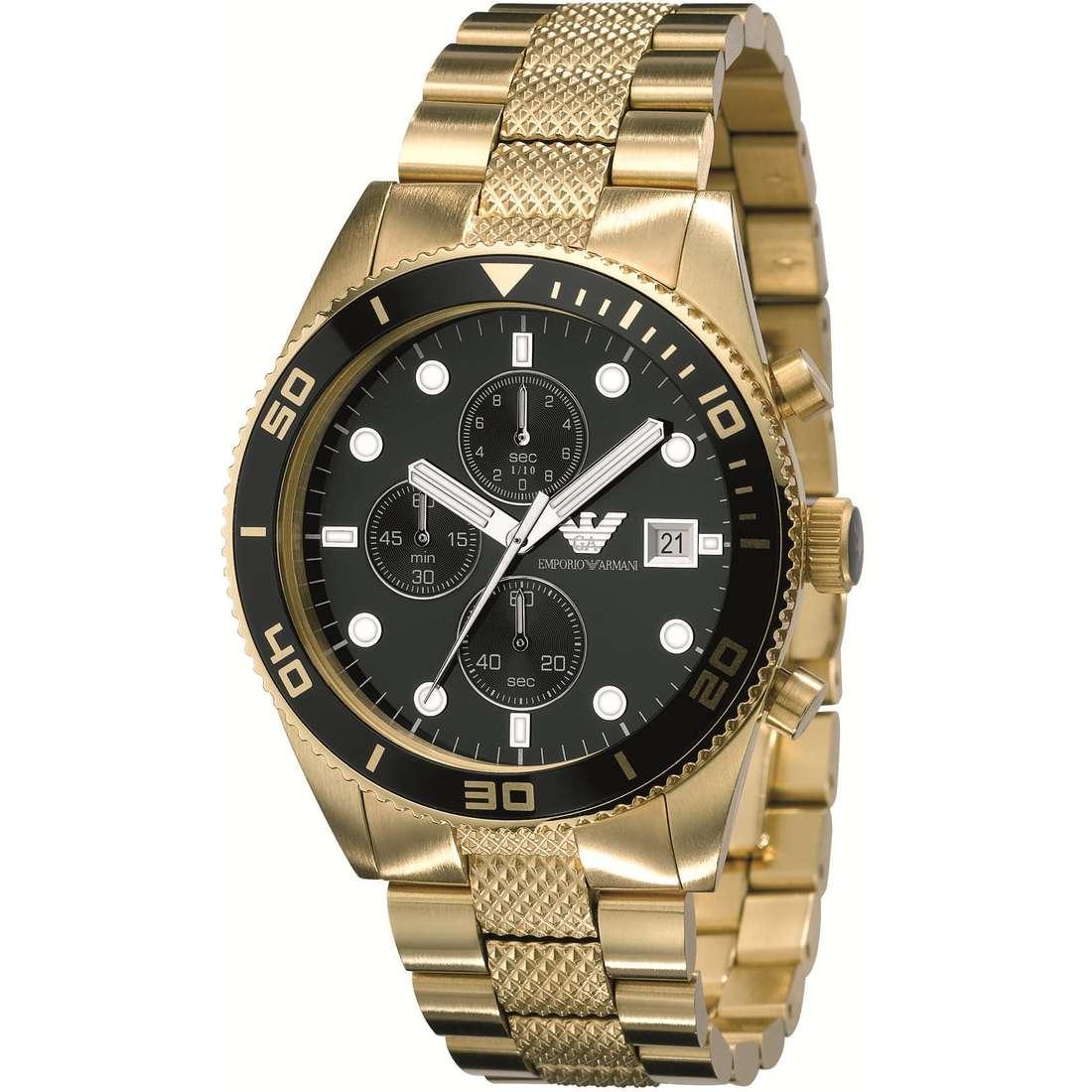 orologio cronografo uomo Emporio Armani AR5857