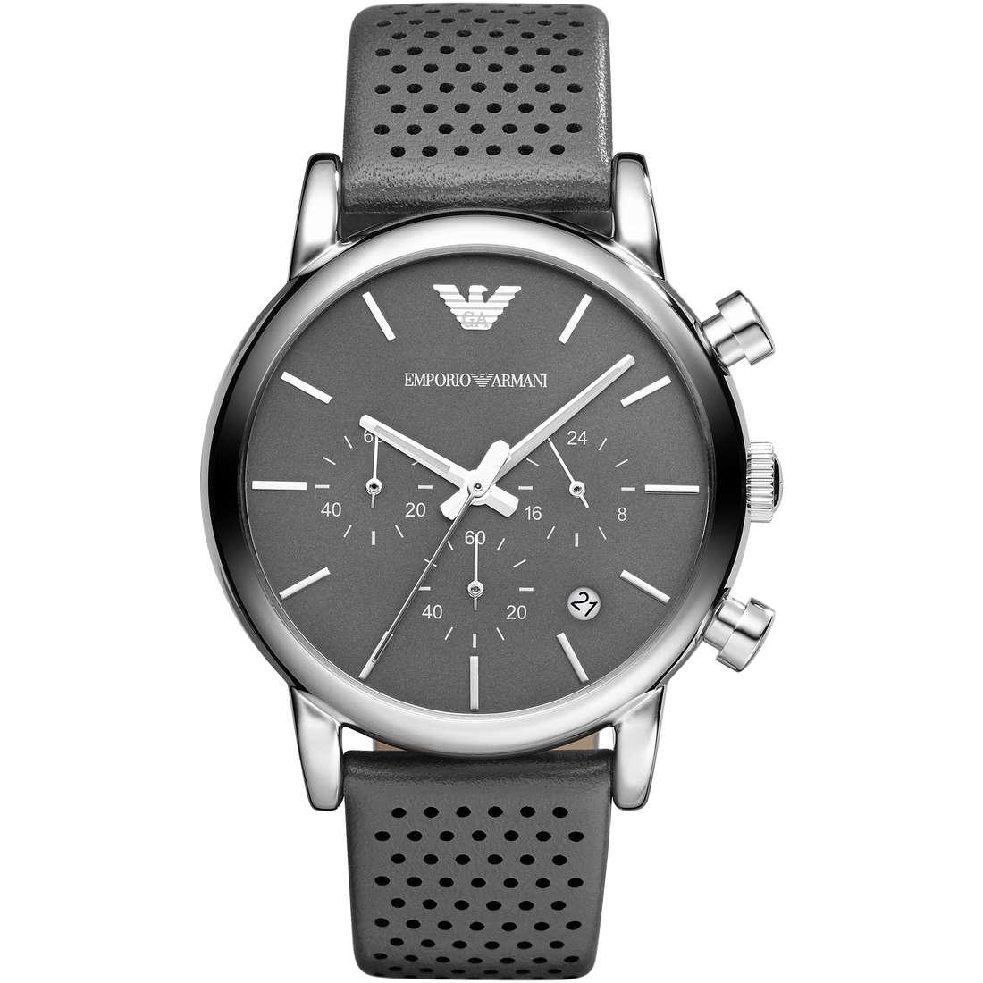 orologio cronografo uomo Emporio Armani Fall 2013 AR1735