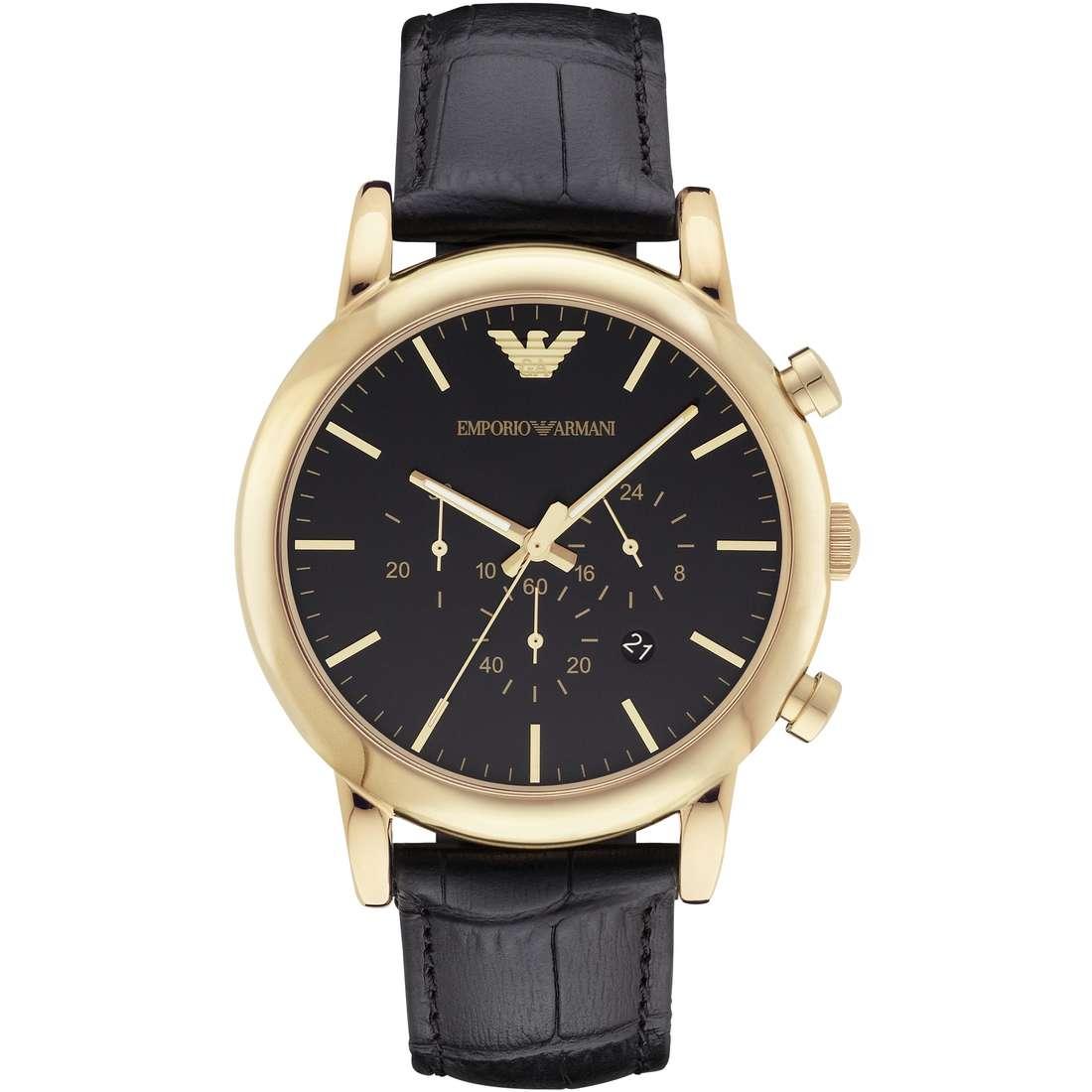 orologio cronografo uomo Emporio Armani Holiday AR1917