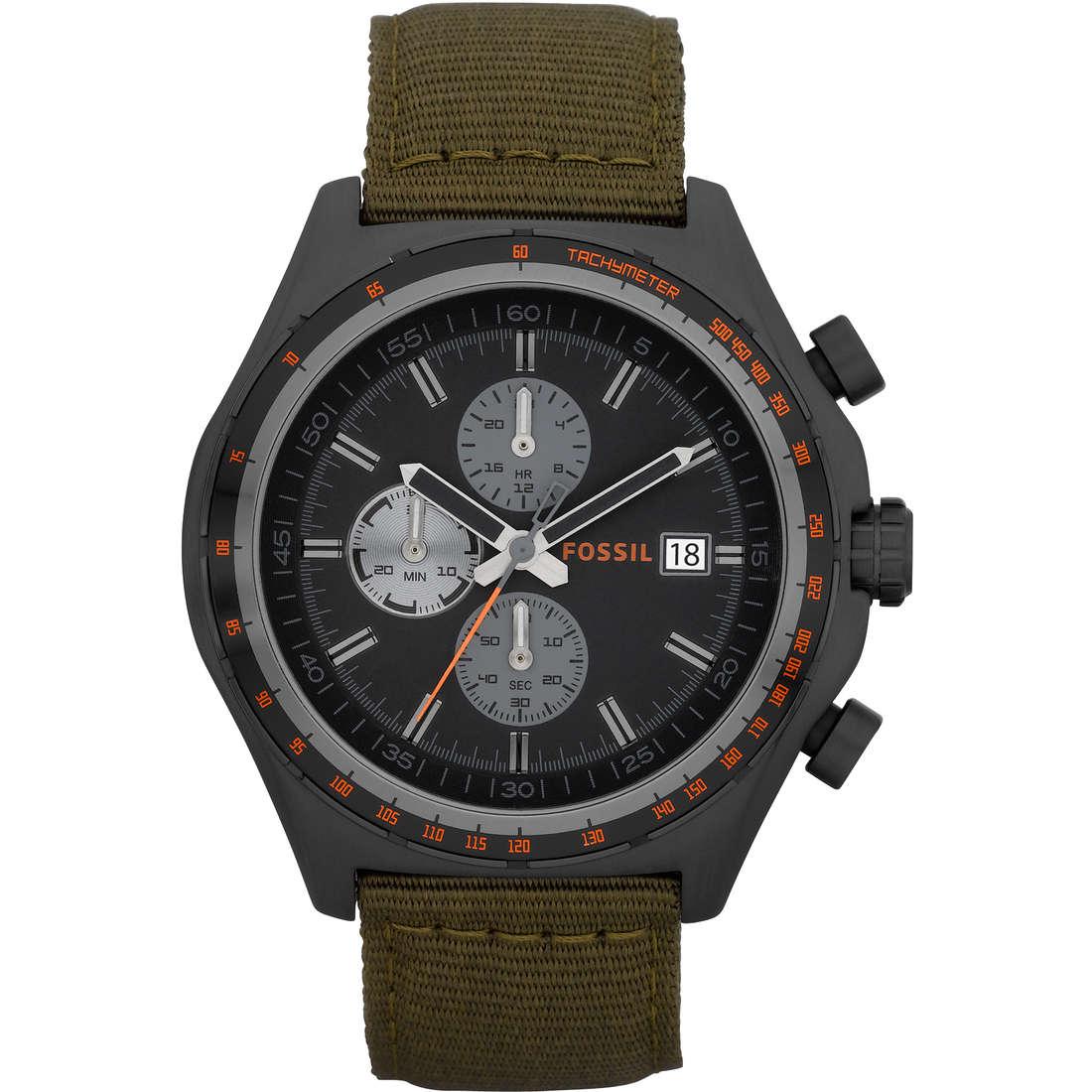 orologio cronografo uomo Fossil CH2781