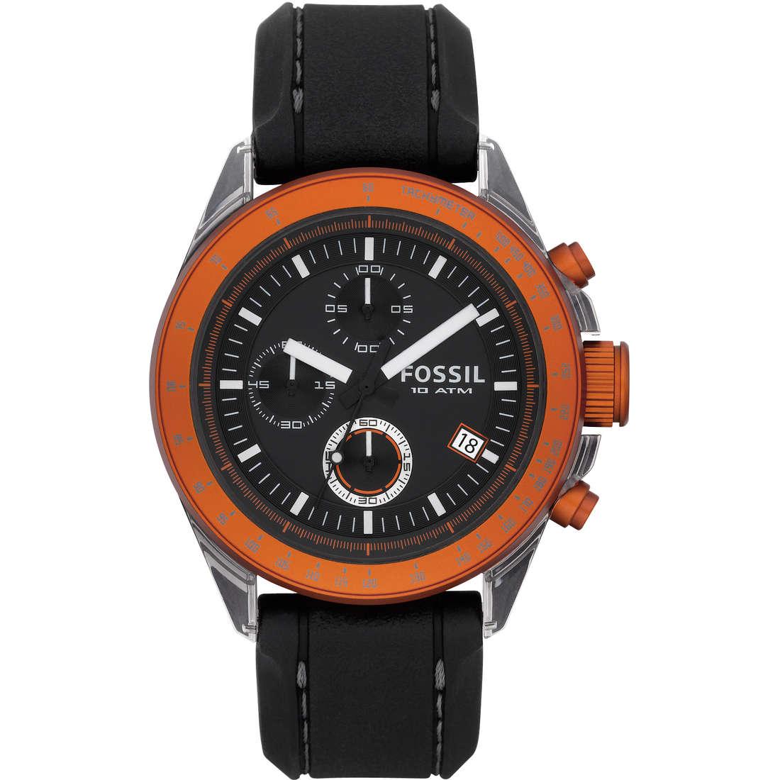 orologio cronografo uomo Fossil CH2785