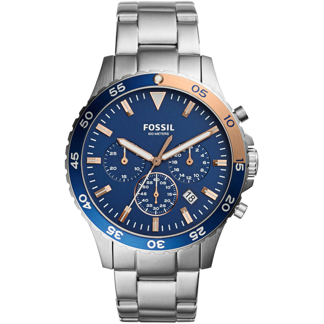 orologio cronografo uomo Fossil CH3059