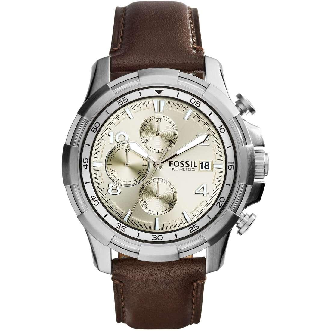 orologio cronografo uomo Fossil Dean FS5114