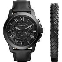 orologio cronografo uomo Fossil FS5147SET