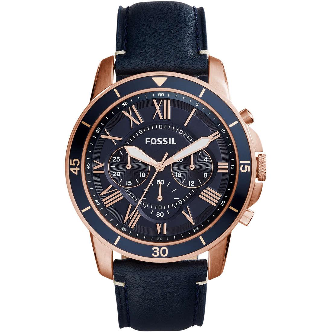 orologio cronografo uomo Fossil FS5237
