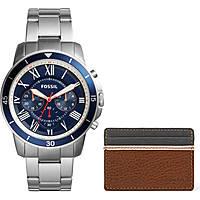 orologio cronografo uomo Fossil Grant Sport FS5336SET
