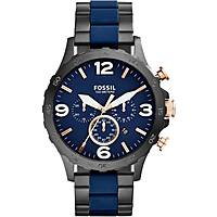 orologio cronografo uomo Fossil Nate JR1494