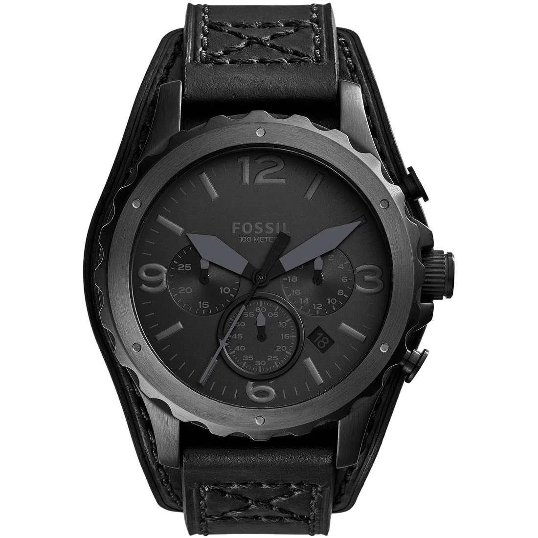 orologio cronografo uomo Fossil Nate JR1510