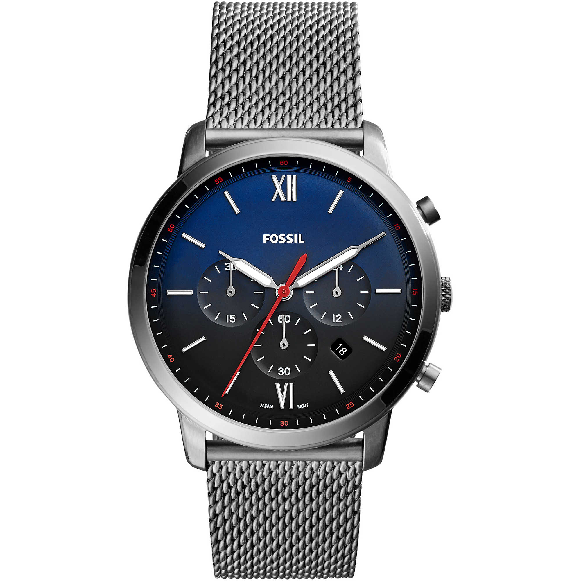 baf5fae3175fca orologio cronografo uomo Fossil Neutra Chrono FS5383 cronografi Fossil
