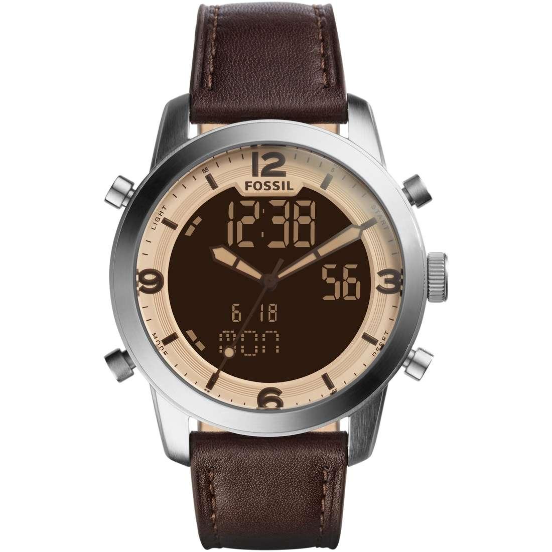 orologio cronografo uomo Fossil Pilot 54 FS5173