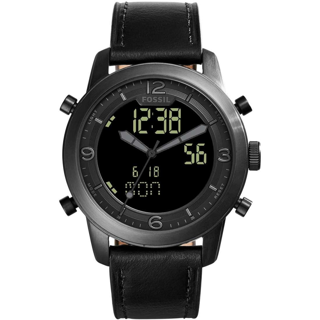 orologio cronografo uomo Fossil Pilot 54 FS5174