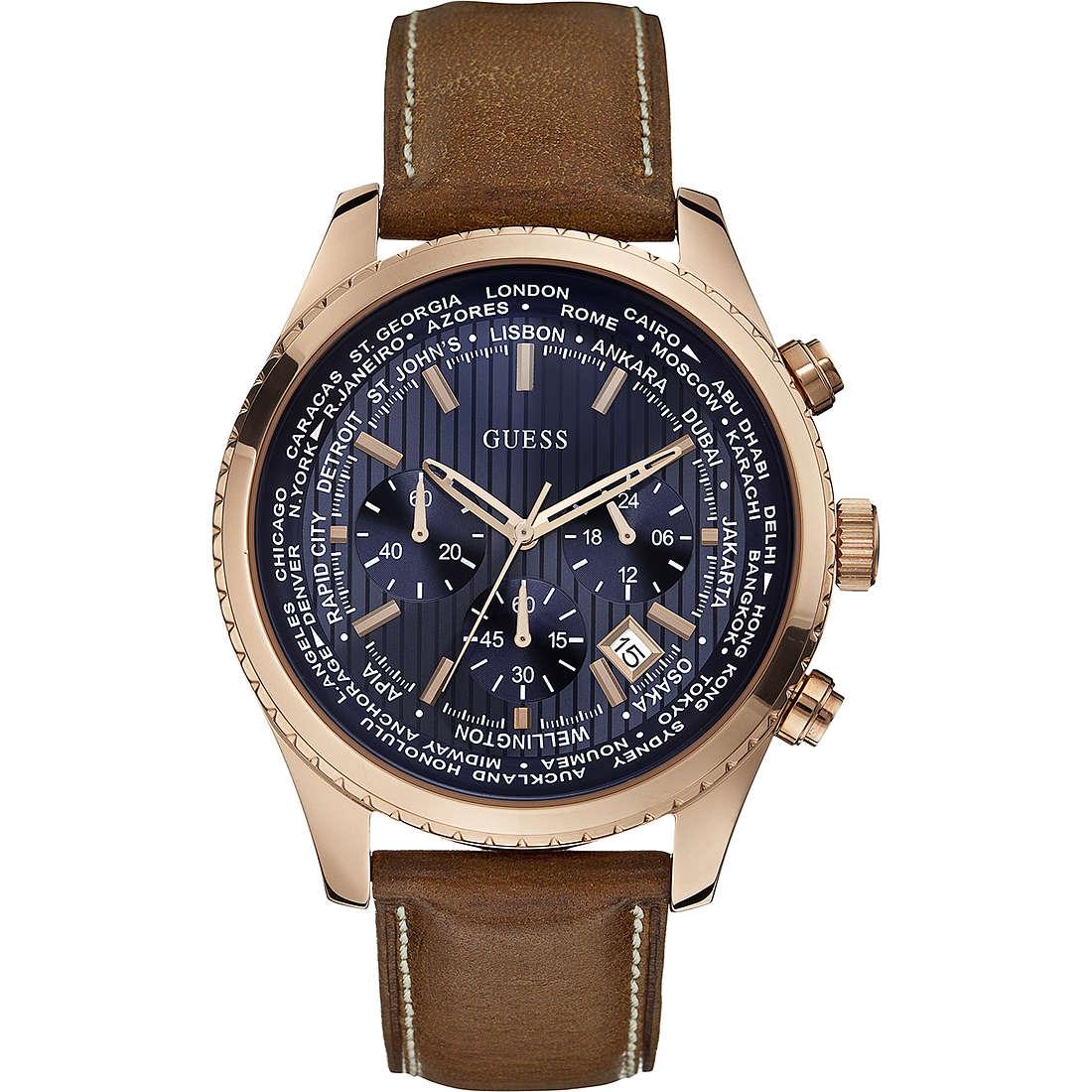orologio cronografo uomo Guess Pursuit W0500G1