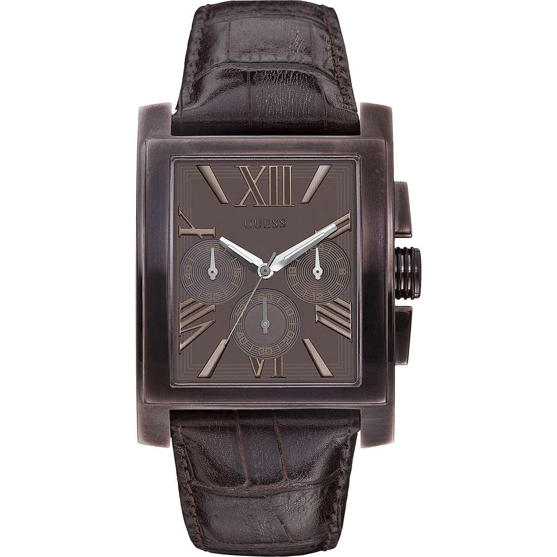 orologio cronografo uomo Guess W0010G3