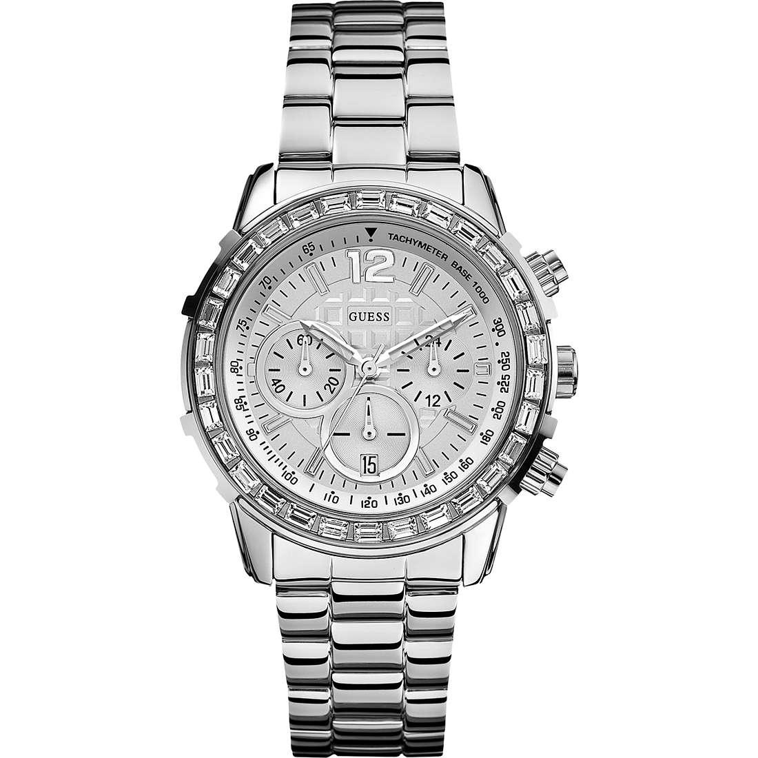 orologio cronografo uomo Guess W0016L1