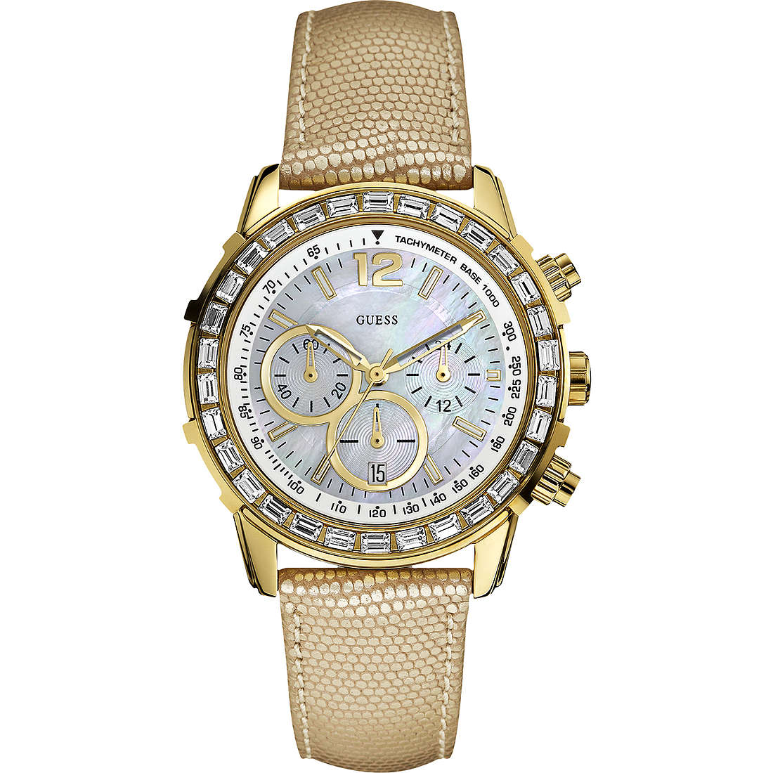 orologio cronografo uomo Guess W0017L2