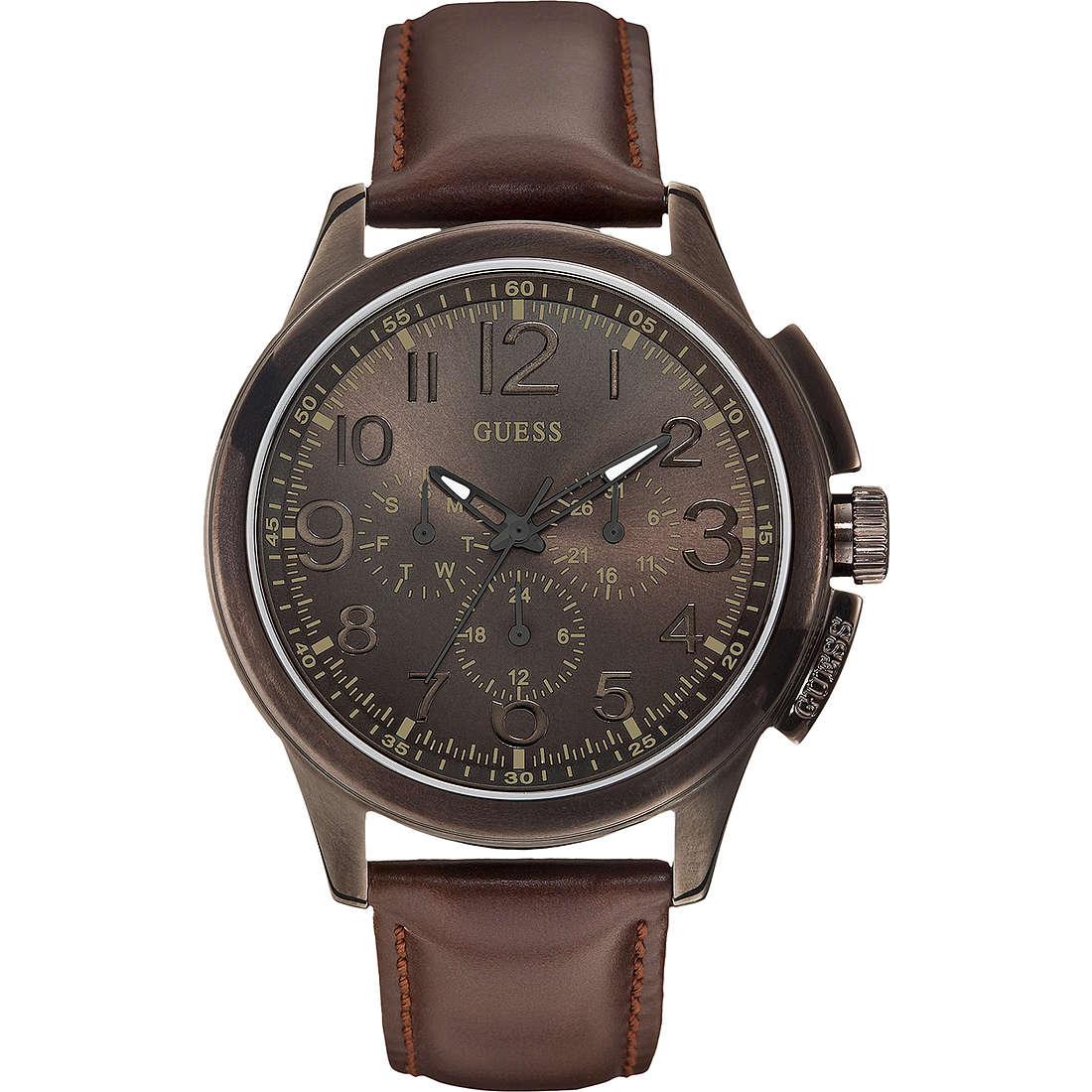 orologio cronografo uomo Guess W0067G4