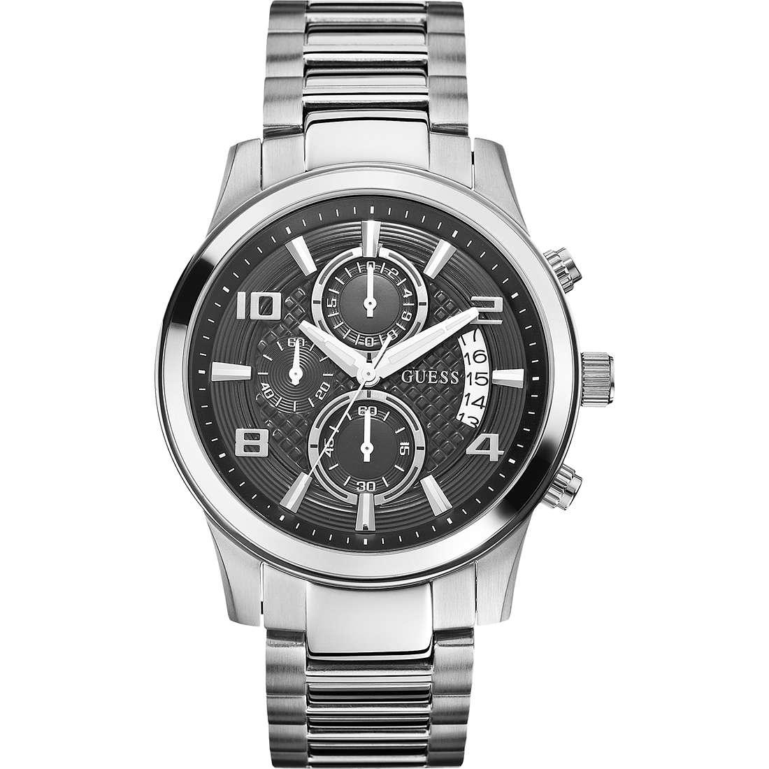 orologio cronografo uomo Guess W0075G1