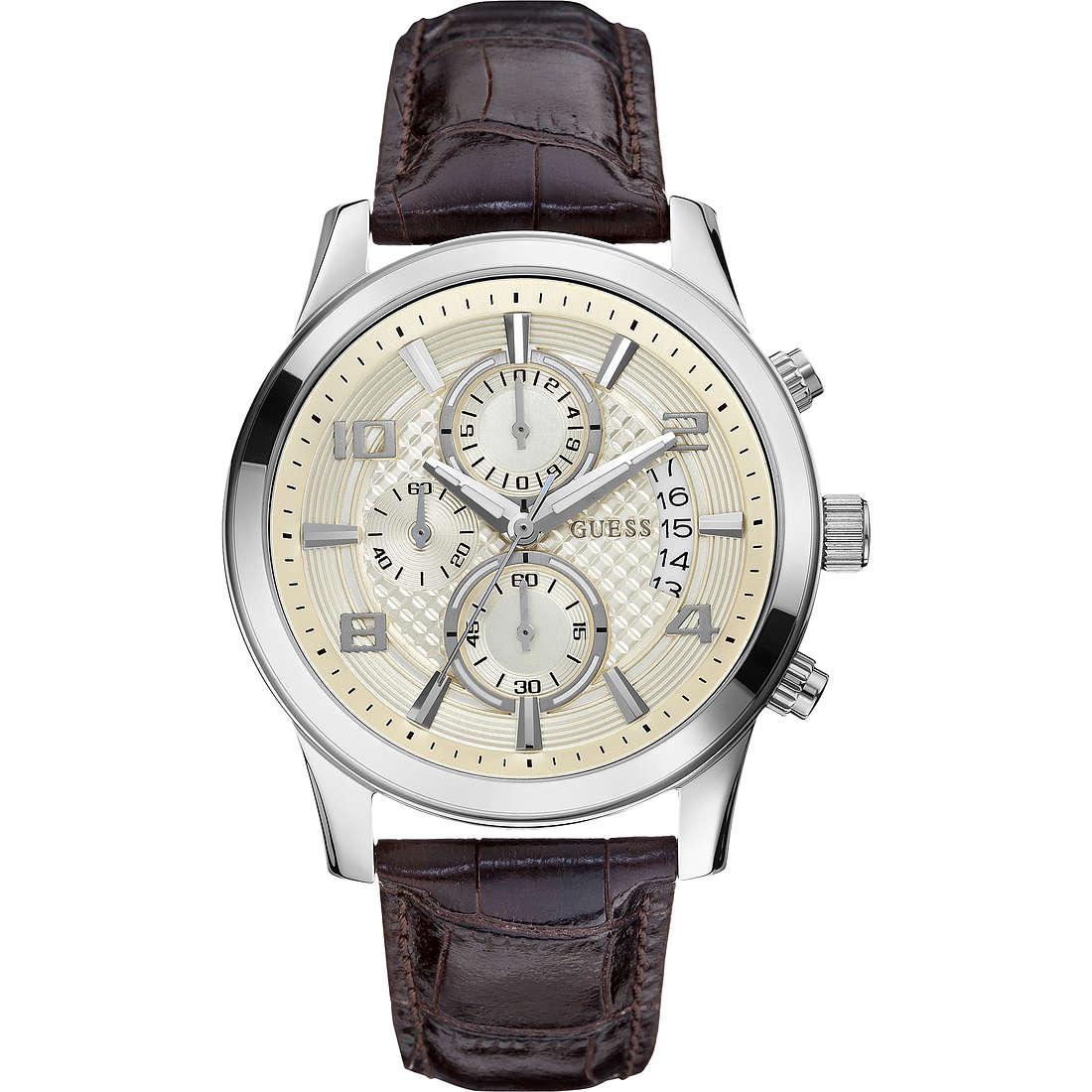 orologio cronografo uomo Guess W0076G2
