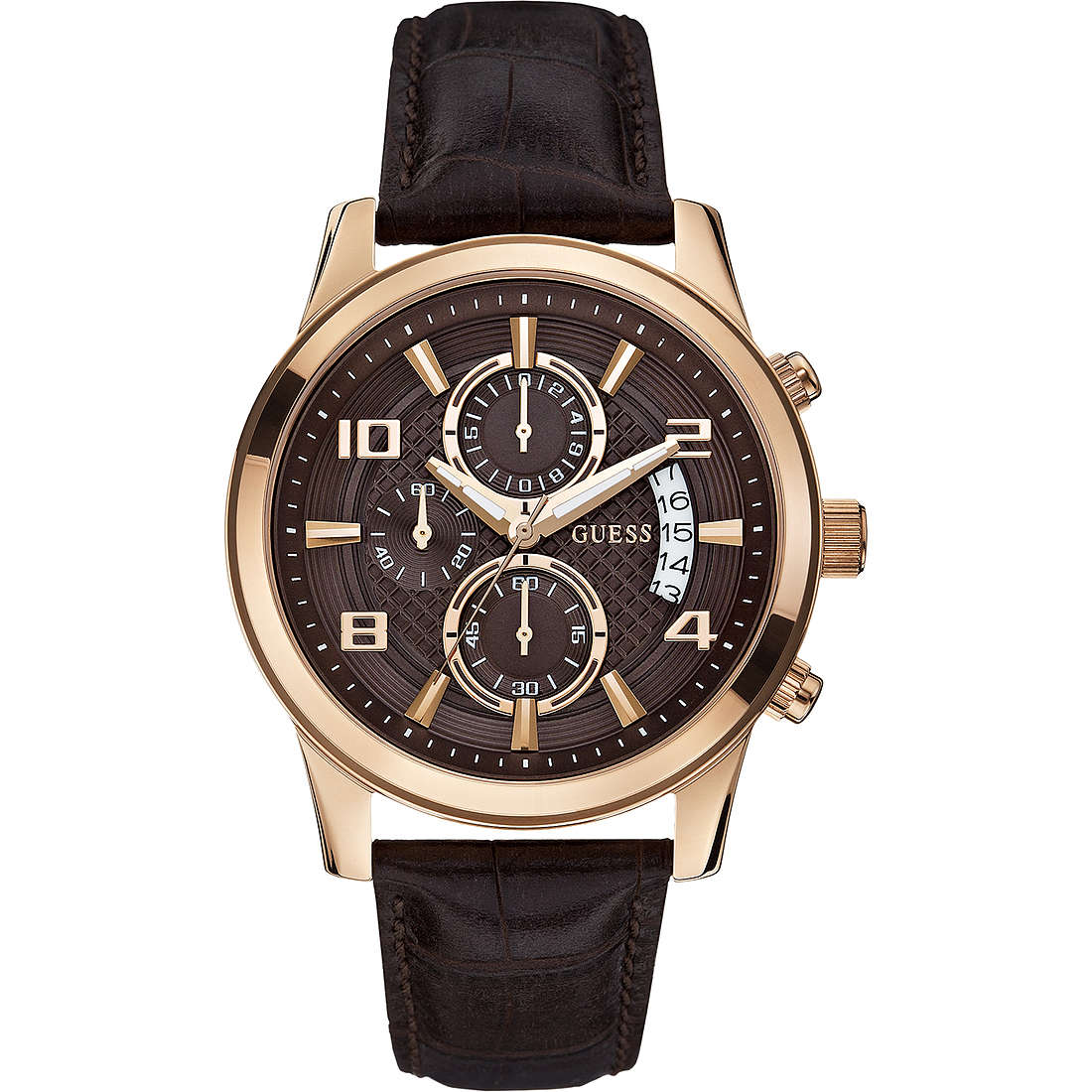 orologio cronografo uomo Guess W0076G4