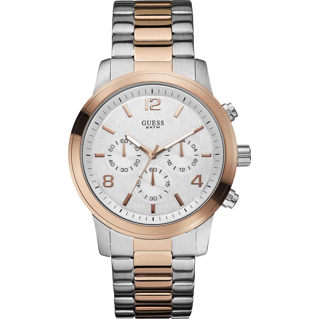orologio cronografo uomo Guess W0123G1
