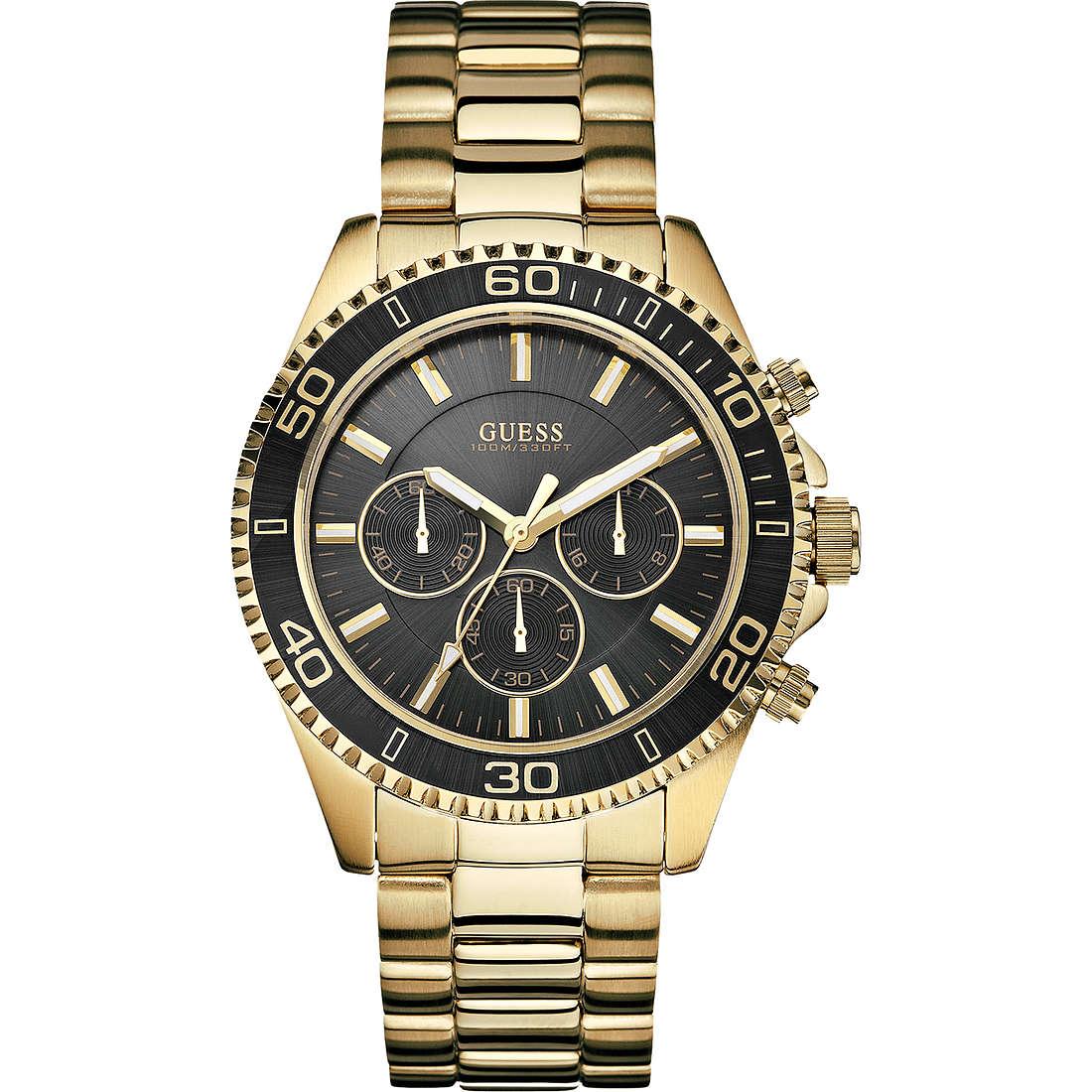 orologio cronografo uomo Guess W0170G2