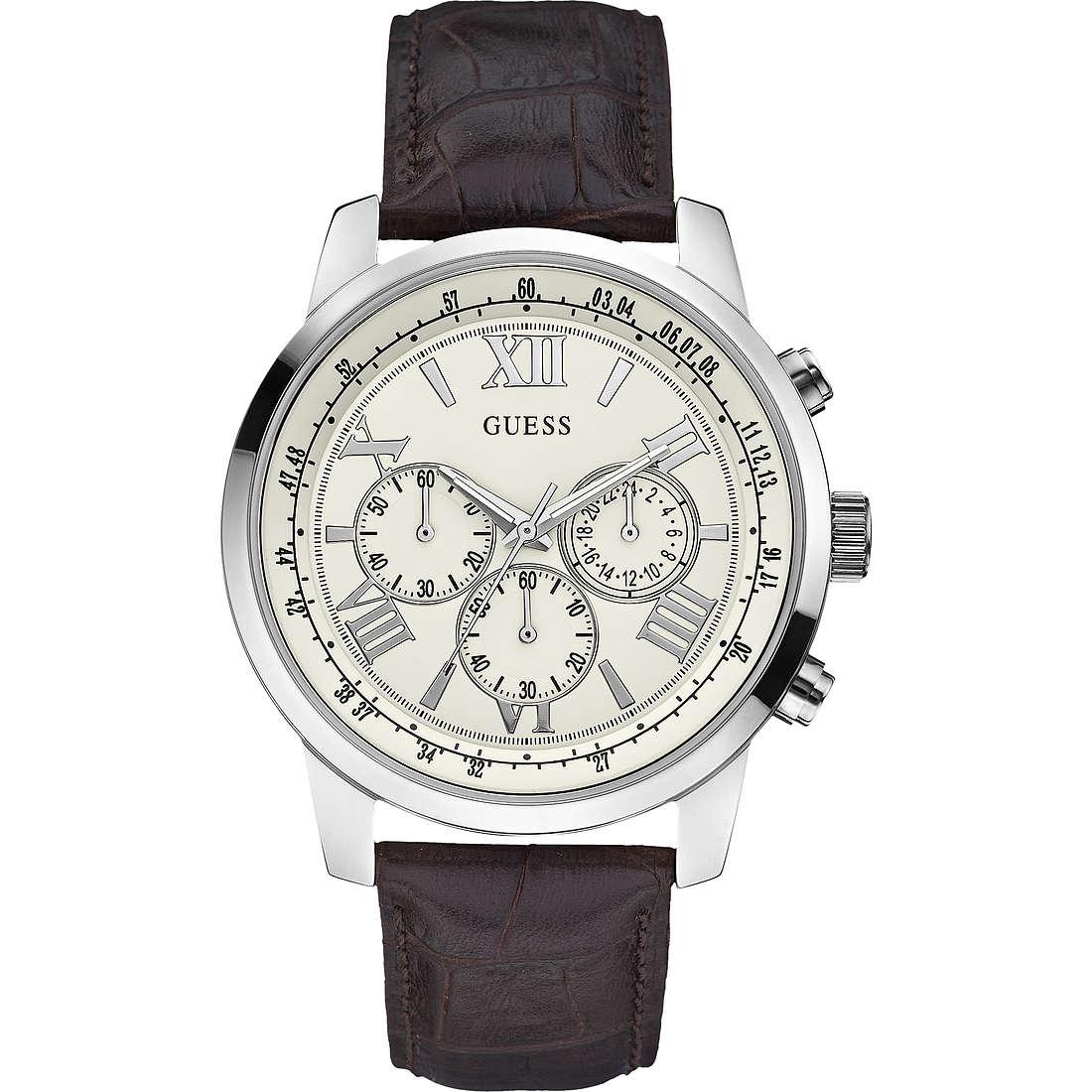 orologio cronografo uomo Guess W0380G2