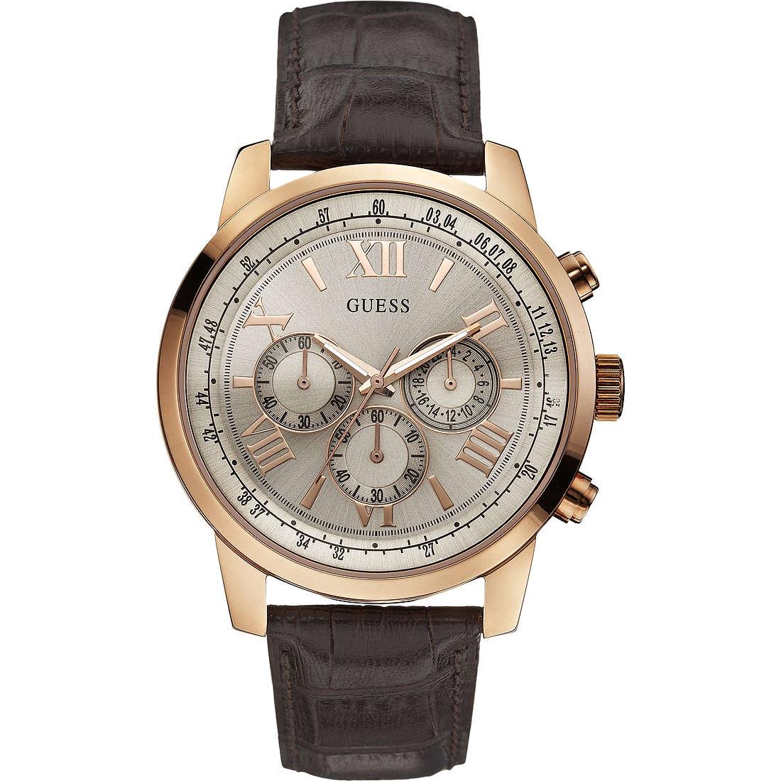 orologio cronografo uomo Guess W0380G4