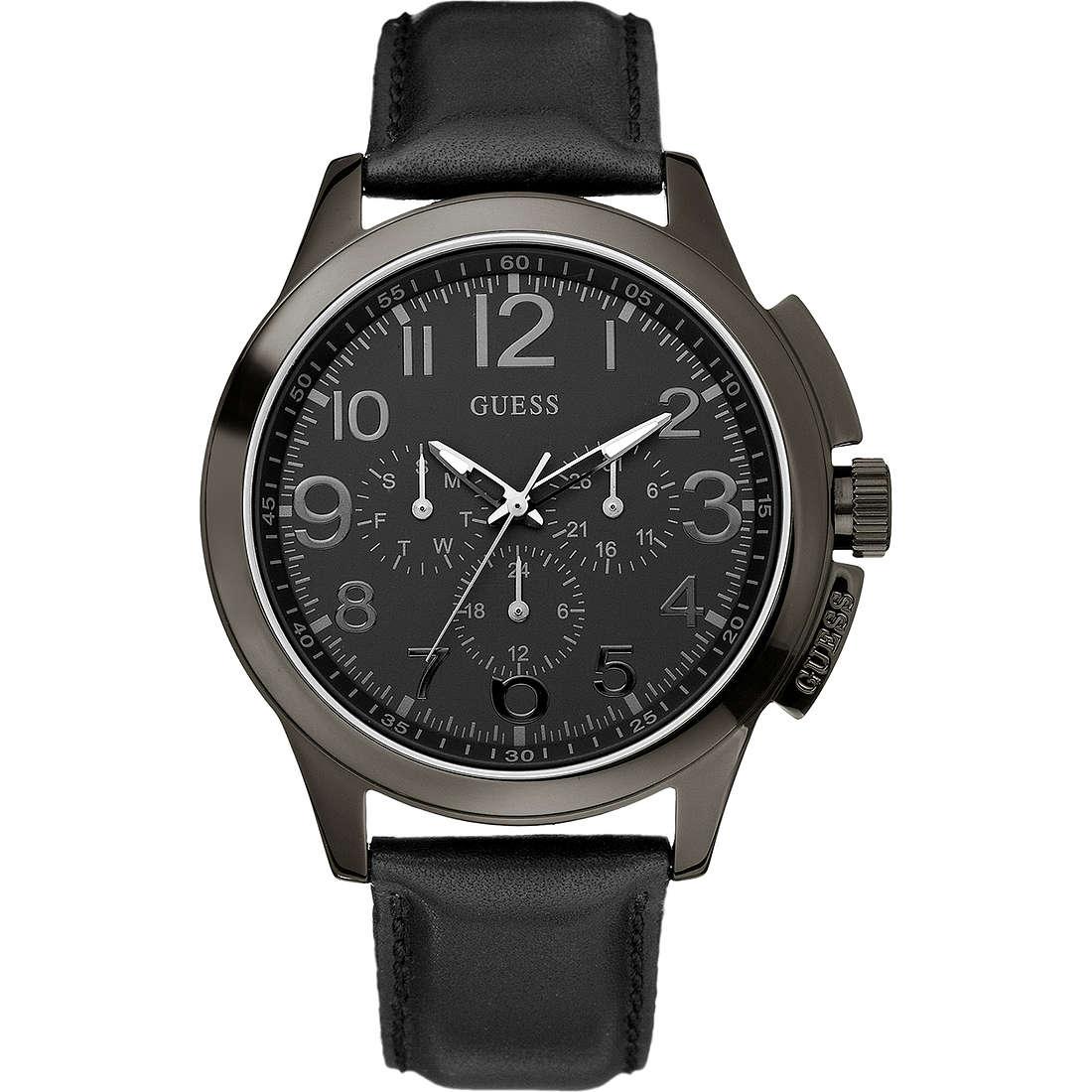 orologio cronografo uomo Guess W11585G1
