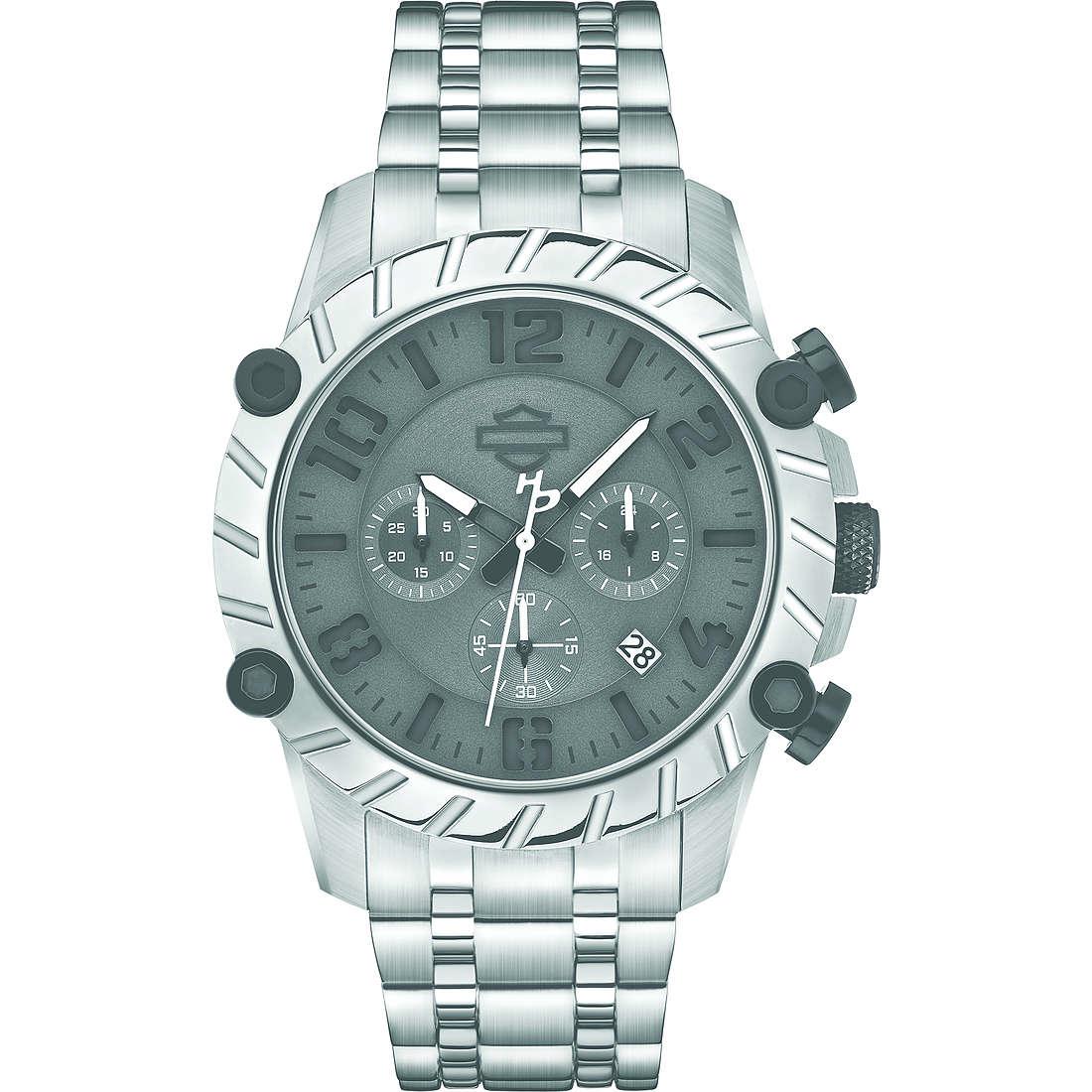 orologio cronografo uomo Harley Davidson 78B133