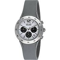 orologio cronografo uomo Hip Hop Metal HWU0707