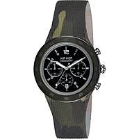 orologio cronografo uomo Hip Hop Metal HWU0710